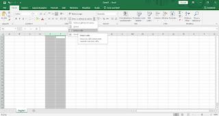 Unisci Excel