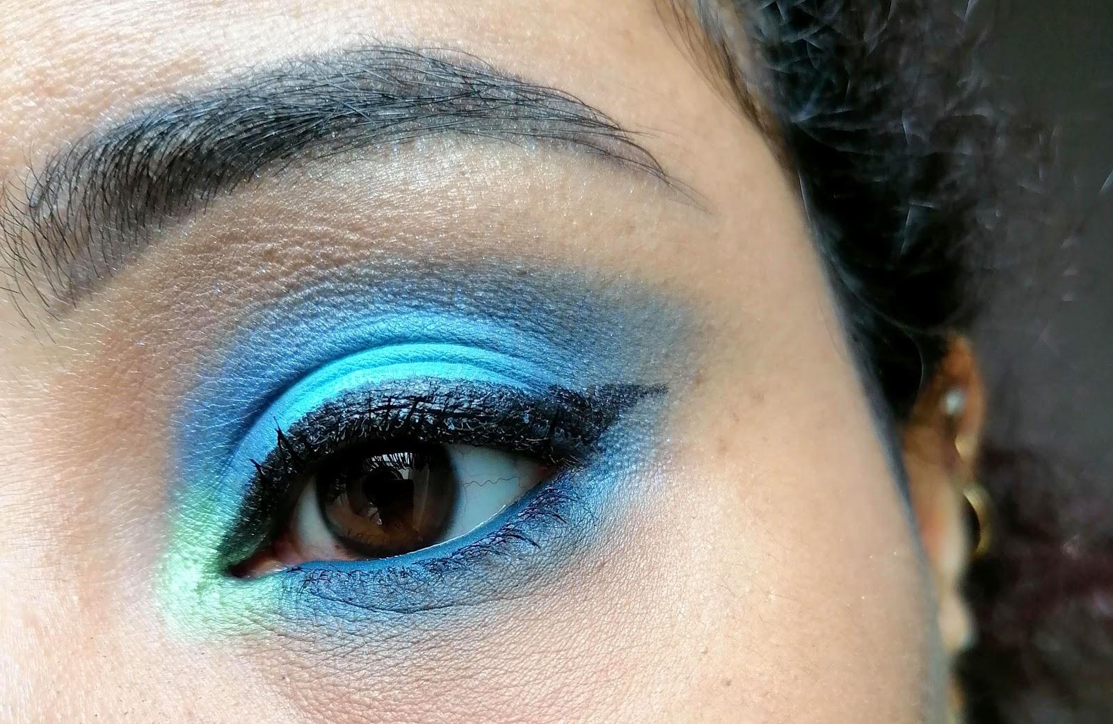 KVD VEGAN BEAUTY >> I am Divine (swatch & make up)