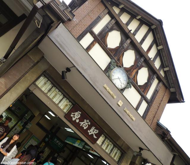 Estación Antigua de Harajuku en Tokio