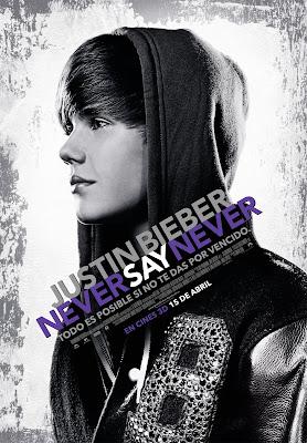 Póster de Justin Bieber Never say never
