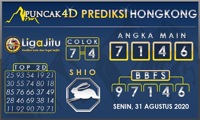 PREDIKSI TOGEL HONGKONG PUNCAK4D 31 AGUSTUS 2020