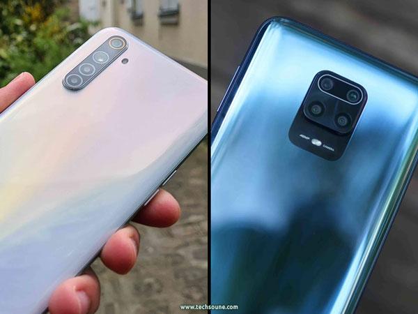 كاميرات Redmi Note 9S Realme 6