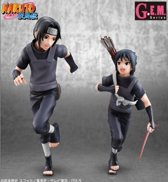 Itachi y Sasuke Uchiha child ver.