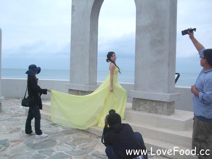 新北石門-石門婚紗廣場-浪漫北海岸 見證愛情的海枯石爛-shi men hun sha guang chang