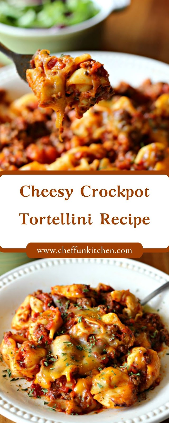 Cheesy Crockpot Tortellini Recipe