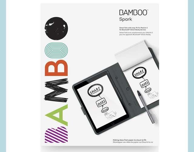 Bamboo Spark Folio smart pen