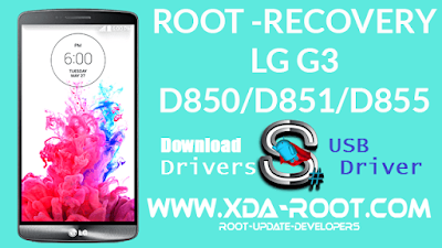 LG G3 D850 USB Driver Free Download for Windows