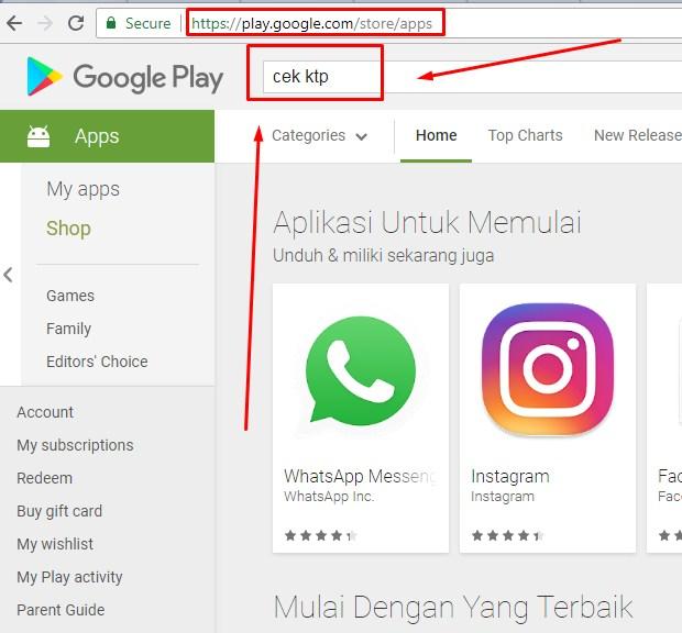 Cara Cek Status NIK Online Lewat Aplikasi Android