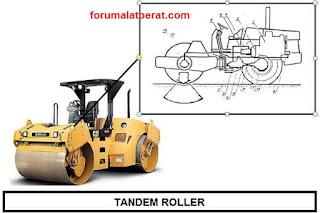 tandem roller adalah