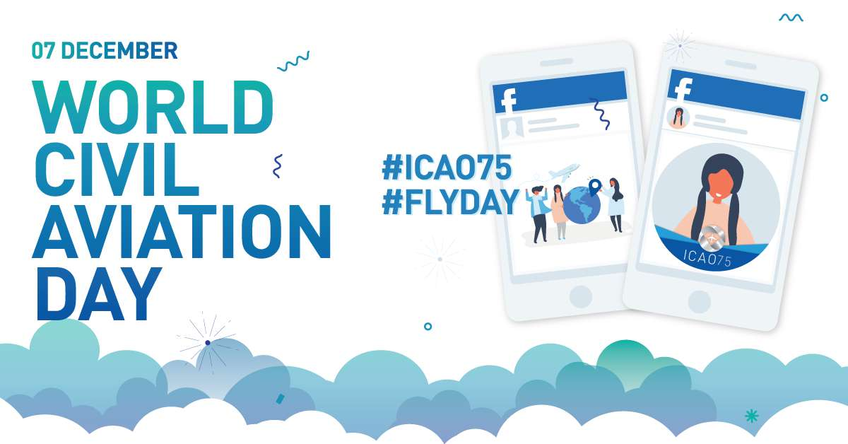 International Civil Aviation Day Wishes Unique Image