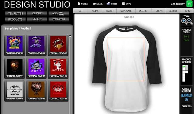 Daftar Aplikasi Desain Baju - T-Shirt Design Studio