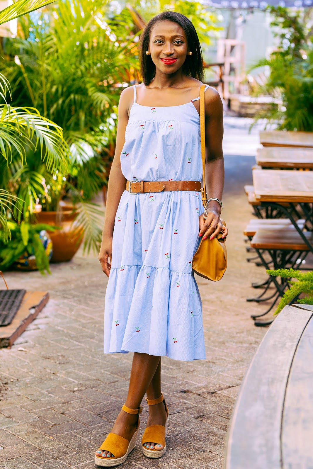 Blue Cami Dress