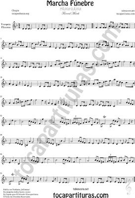 Funeral March Sheet Music for Trumpet and Flugelhorn Music Scores
