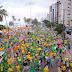 PE: Apoiadores do presidente Jair Bolsonaro reúnem-se em Boa Viagem para defesa do voto impresso