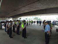 Polsek Tanjung Duren Gelar Apel Gabungan Pengamanan   Pertandingan Sepakbola Persija VS Persib