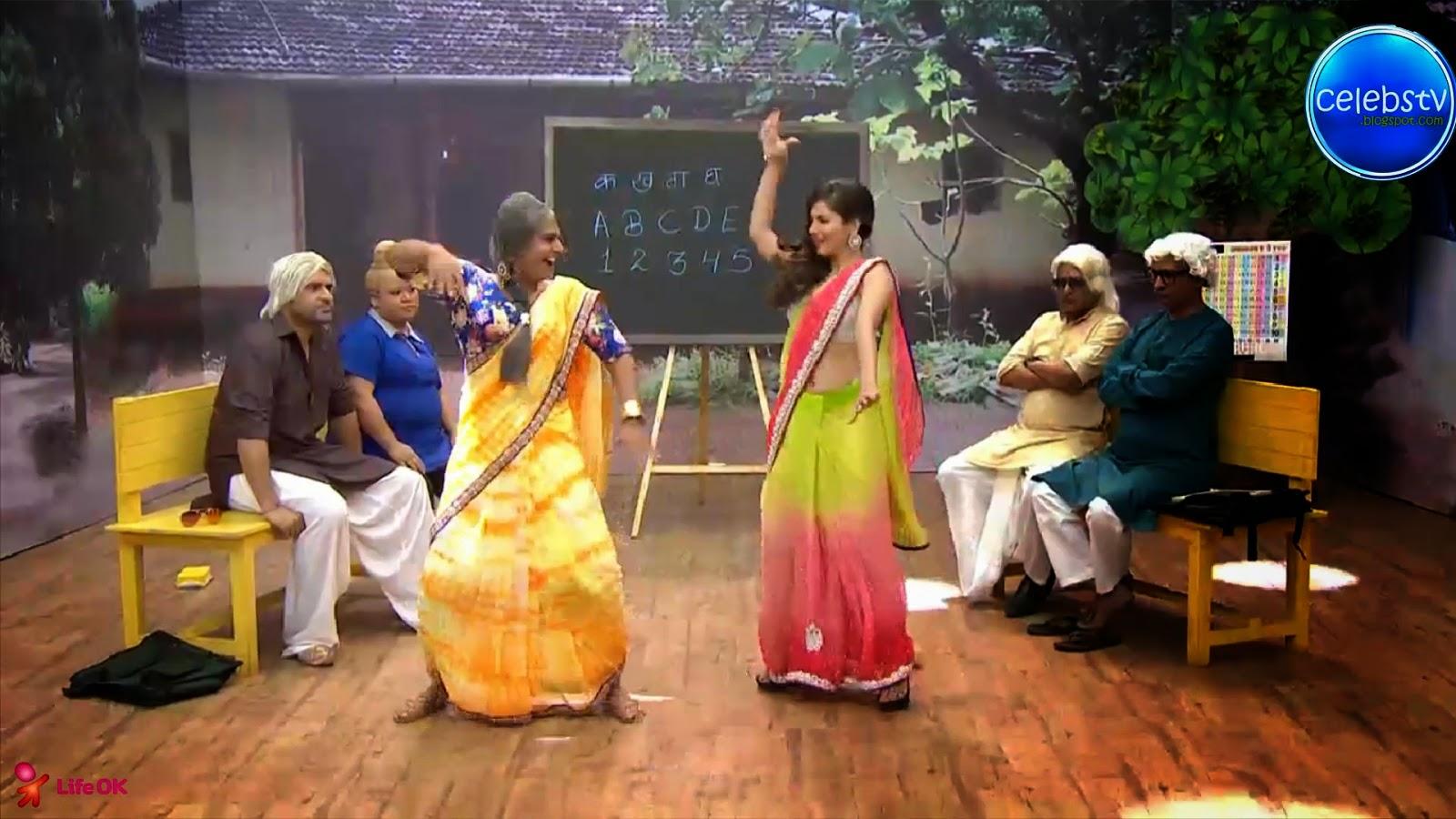 Pooja Bose Very Hot Sexy Bouncing Boobs, Navel Show -2059