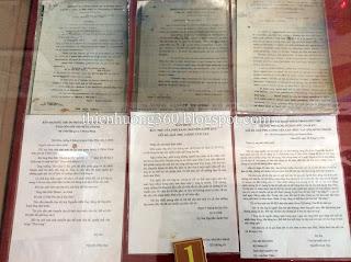Một số thư của cụ Nguyễn Sinh Sắc gởi sang Campuchia