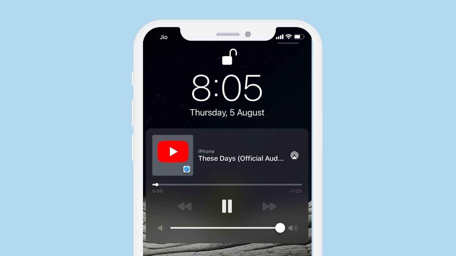 Play YouTube music in the background on iPhone