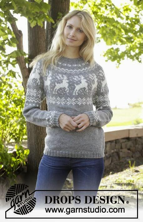 Top MES FAVORIS TRICOT-CROCHET: Pulls jacquard au tricot : 20 modèles  VH66