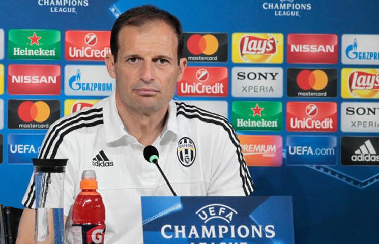 """Allegri: """"Slabosti Barcelone? To je njihov defanzivni red"""""""
