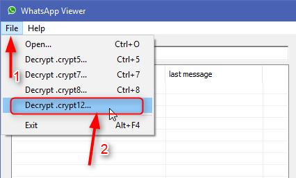 key file whatsapp viewer