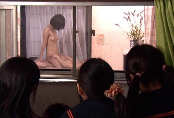 NHDTA-533 Eng Sub We Can See The Neighbors Having Sex! My Sister