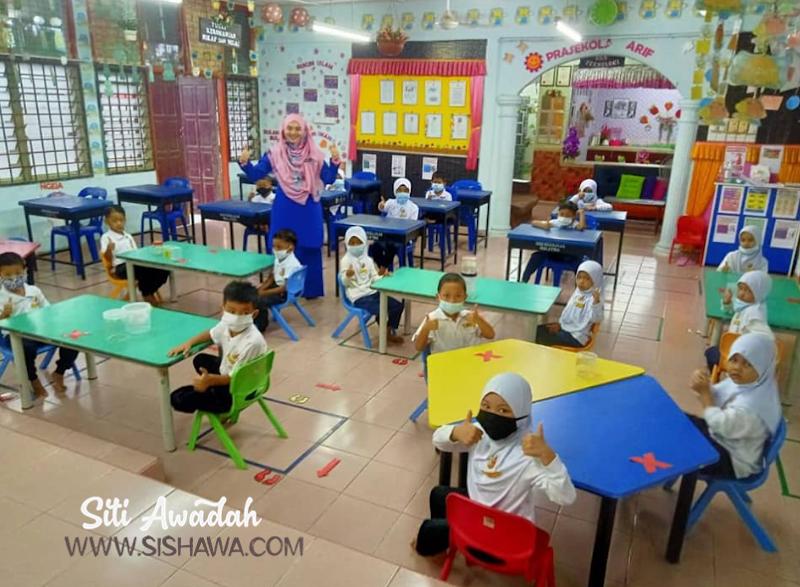Pengalaman Hantar Anak Untuk Pembukaan Semula Prasekolah