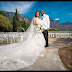 Adesua Etomi and Banky W walk down the aisle in Cape Town... see their beautiful photos