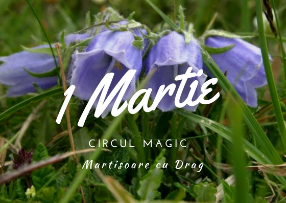 Martisoare Quilling 2017 Clopotei Handmade Circul Magic