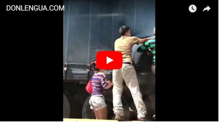 Saquearon camión de Harina Pan con Gorgojos en la ARC