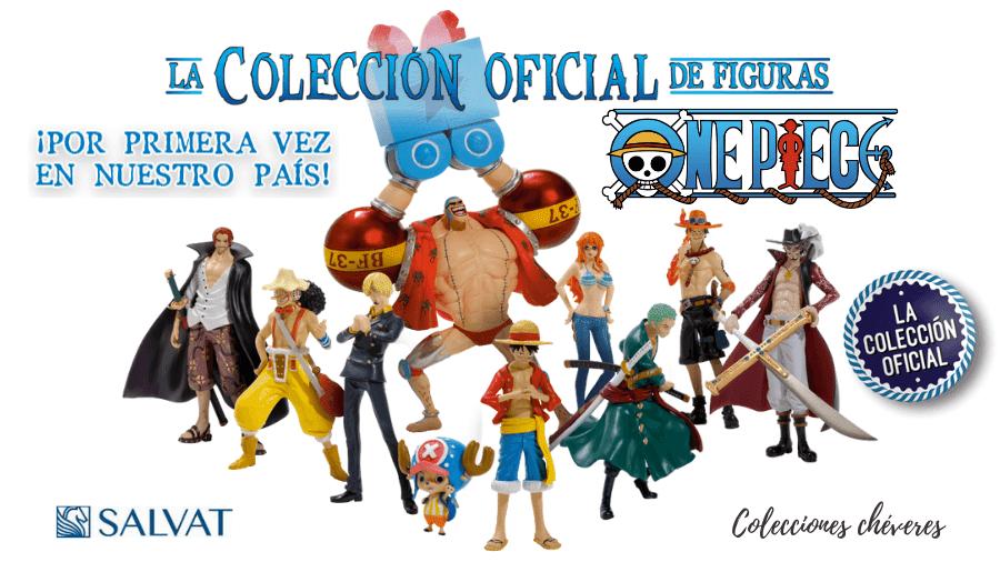 colección oficial de figuras de one piece