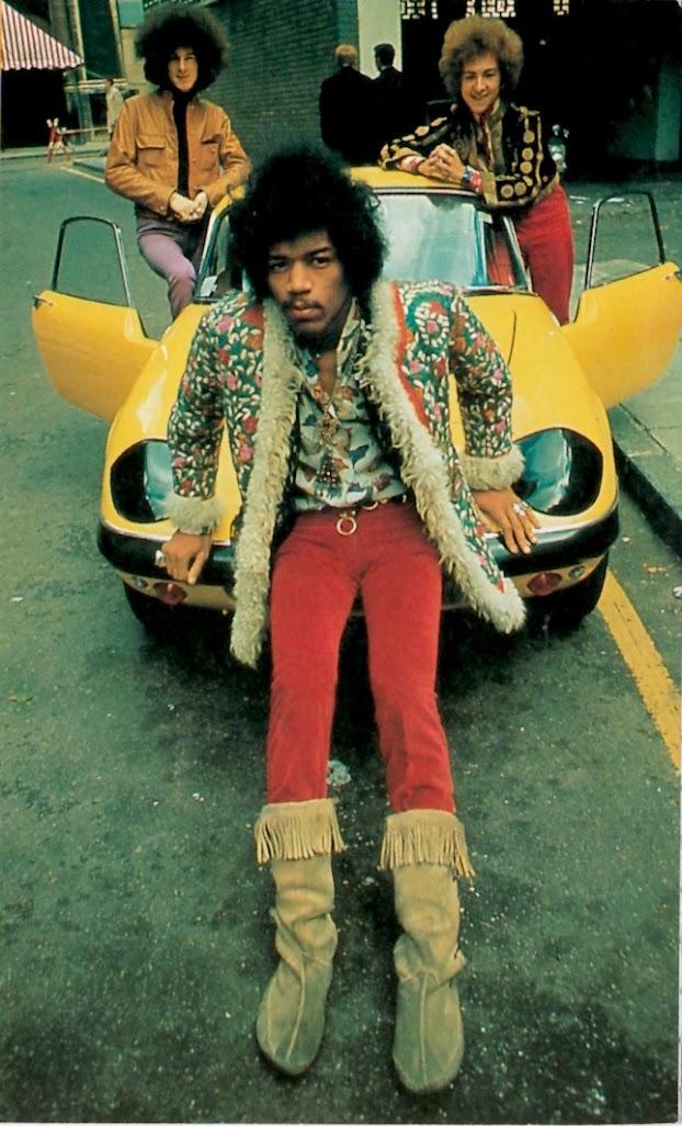Afghan Coat, Jimi Hendrix, Yellow Lotus Elan