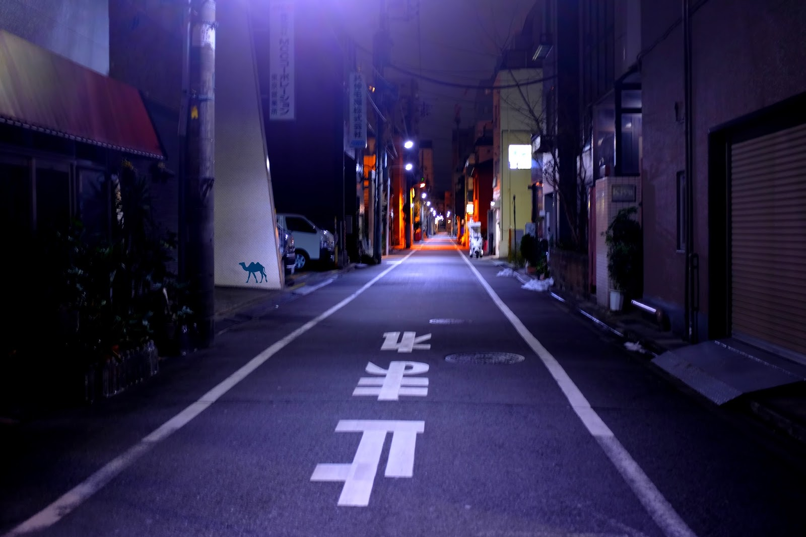 Le Chameau Bleu - Rue japon - S'orienter se déplacer au Japon