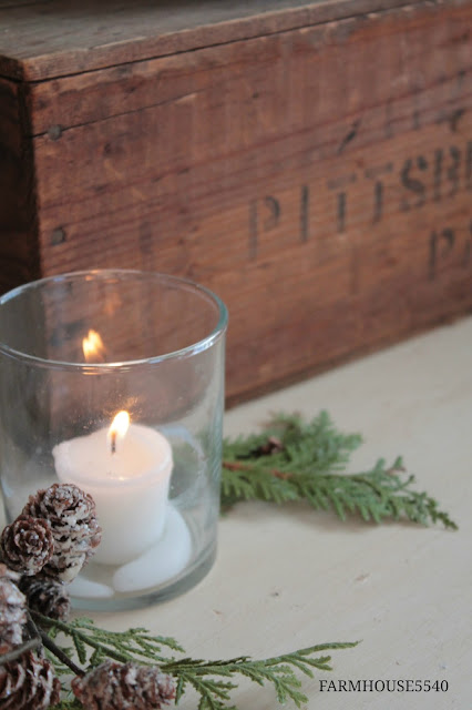 FARMHOUSE 5540 Farmhouse Inspiration Candle Light