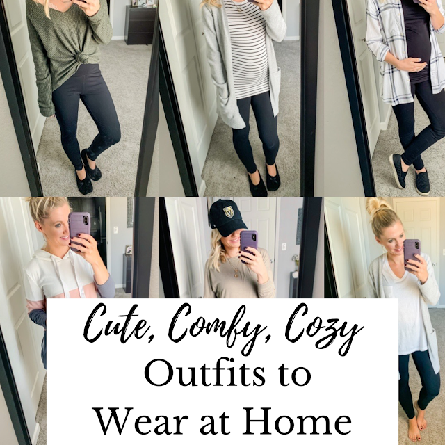 Cute, Comfy, Cozy Outfits to Wear at Home