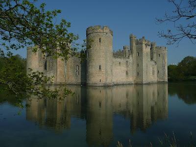 Bodiam Castle.