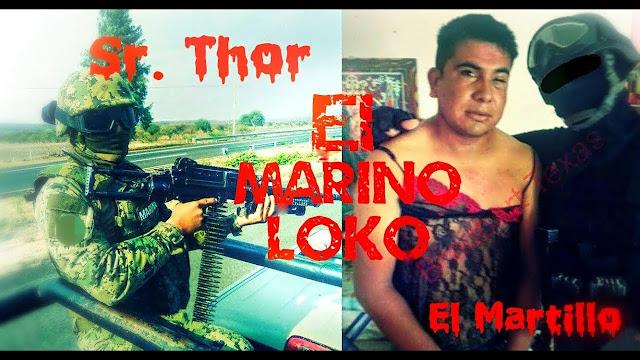 Duro golpe al ´Marino Loko´  la ´PGR se lo lleva a la  CDMX, por desapariciones  de narcos en Tamaulipas