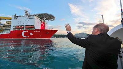 أردوغان يعلن اكتشاف كميات كبيرة من الغاز في مكمن بحري