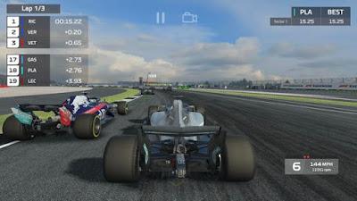 لعبة F1 Mobile Racing للاندرويد مهكرة, تحميل لعبة F1 Mobile Racing apk مهكرة