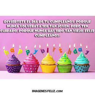 Feliz Cumpleaños Hombres Happy birthday cupcakes