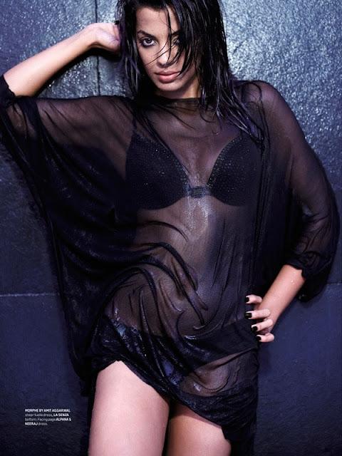 Mugdha Godse's Hot Bikini Photos in Maxim Magazine