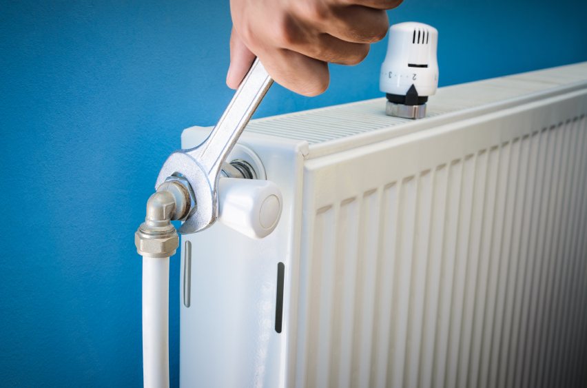 instalación radiadores calefacción gas