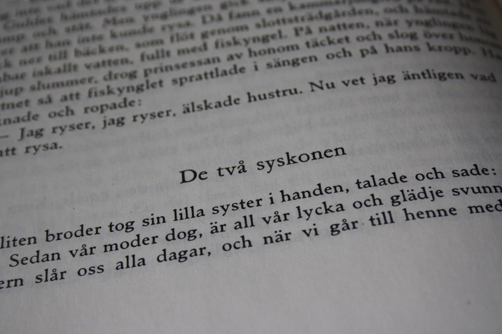 Boken är tankens barn  Bröderna Grimm - tre sagor 32c29fd418067
