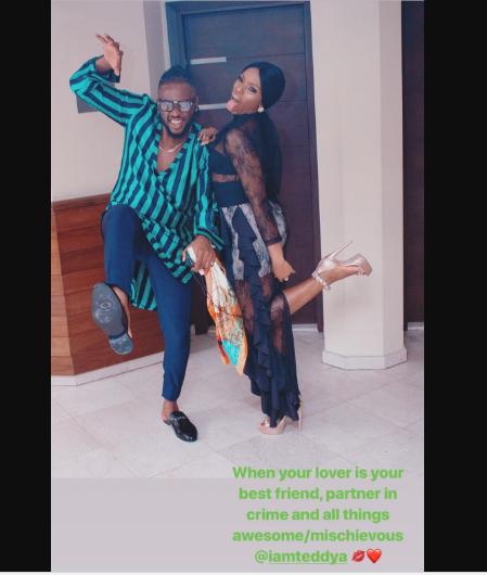 The Big Brother Naija 2018 housemates started their relationship while in the house and it seems to have continued outside the house.