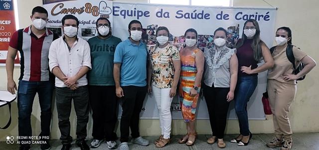 Dentistas e secretária da Saúde de Cariré se reúnem para alinhar os atendimentos à população