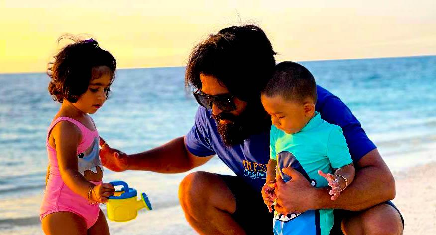 Yash And Radhika Pandit Son And Daughter