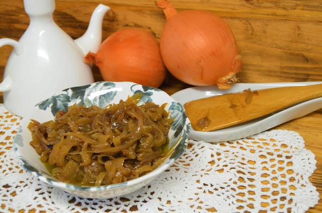 Las delicias de Mayte, recetas saludables, recetas, salsa deluxe, cebolla caramelizada sin azucar, cebolla caramelizada rapida, cebolla caramelizada receta, recetas de comida, recetas de cocina,