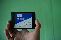 SSD WD Blue 250 GB SATA yang Buat Laptopmu Makin Kencang