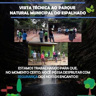 Prefeitura de Ibicoara promove visita técnica ao Parque Municipal do Espalhado