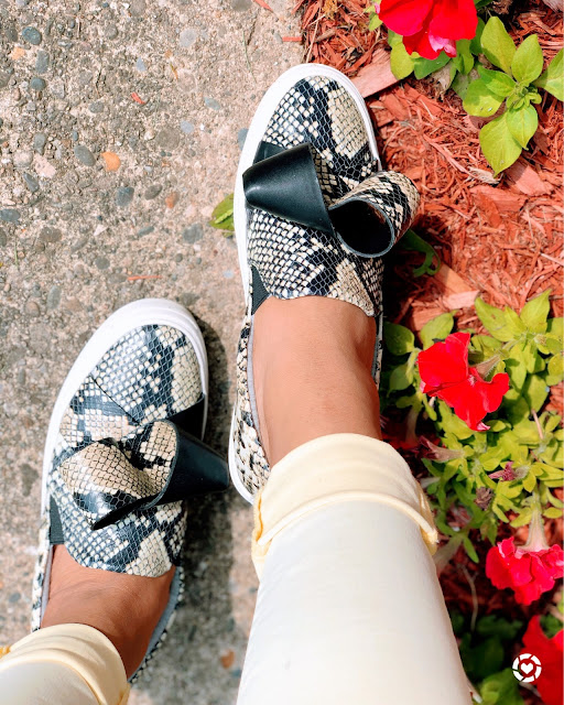 The snake print obsession!